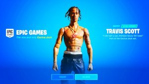 HOW TO GET TRAVIS SCOTT SKIN FORTNITE